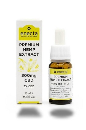 HUILE Premium Hemp Extract 3% CBD - 300mg - 10ml Enecta