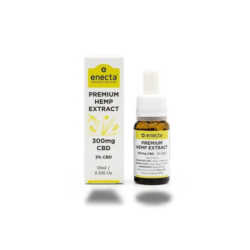 HUILE Premium Hemp Extract 3% CBD - 300mg - 10ml Enecta
