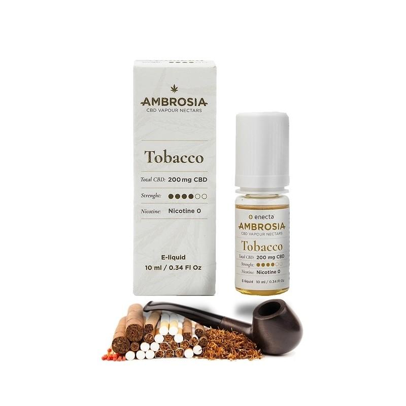 e-Liquide CBD 200mg Tabac- Ambrosia - 10ml