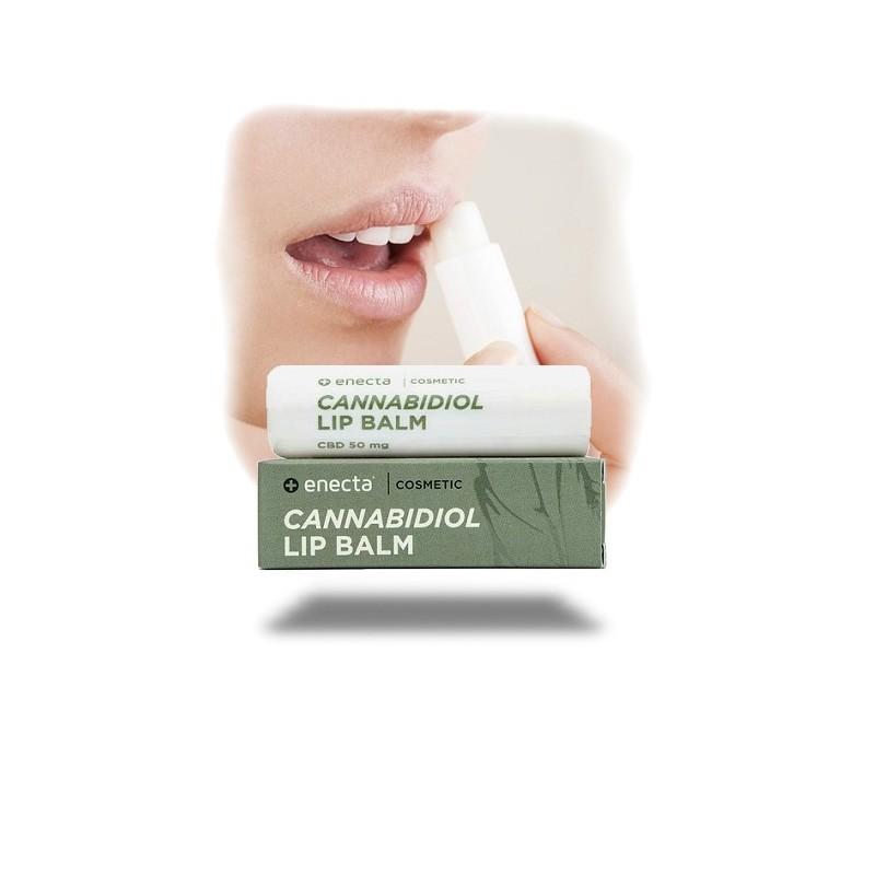 Baume à lèvres CBD 50mg en stick - Enecta