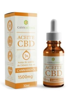 Huile de CBD 5% -30ml-Cannactiva