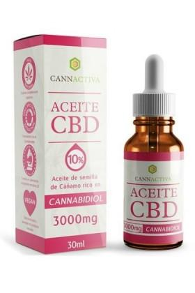 Huile de CBD 10% -30ml-Cannactiva