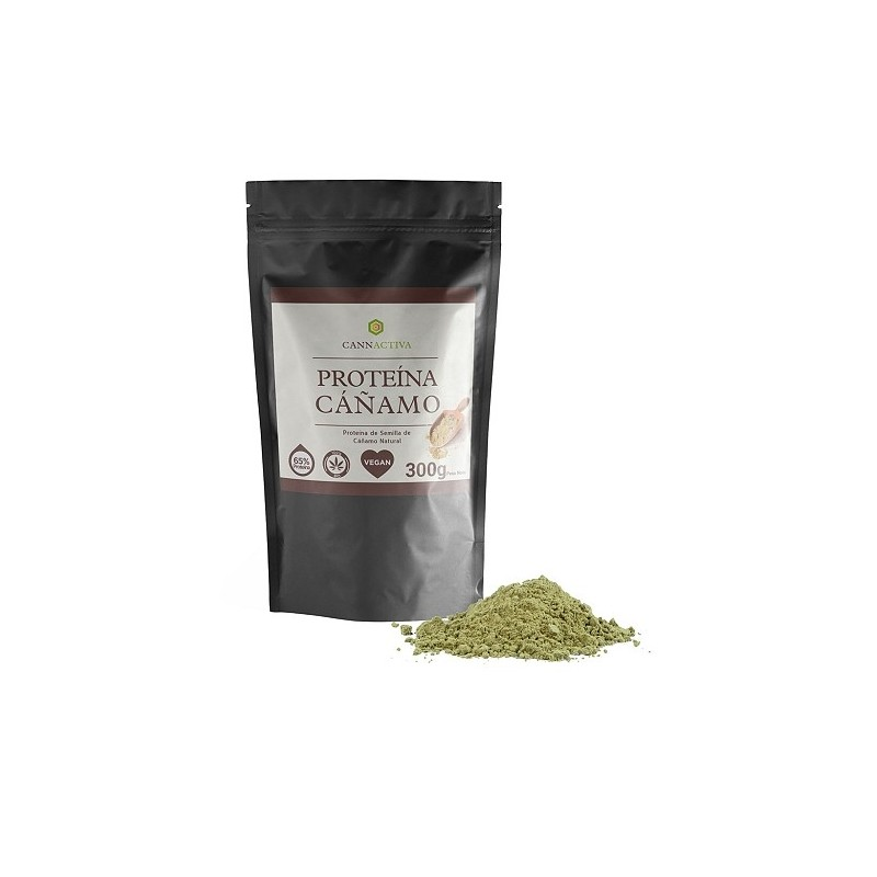Protéine de chanvre 65% - 300g - Cannactiva