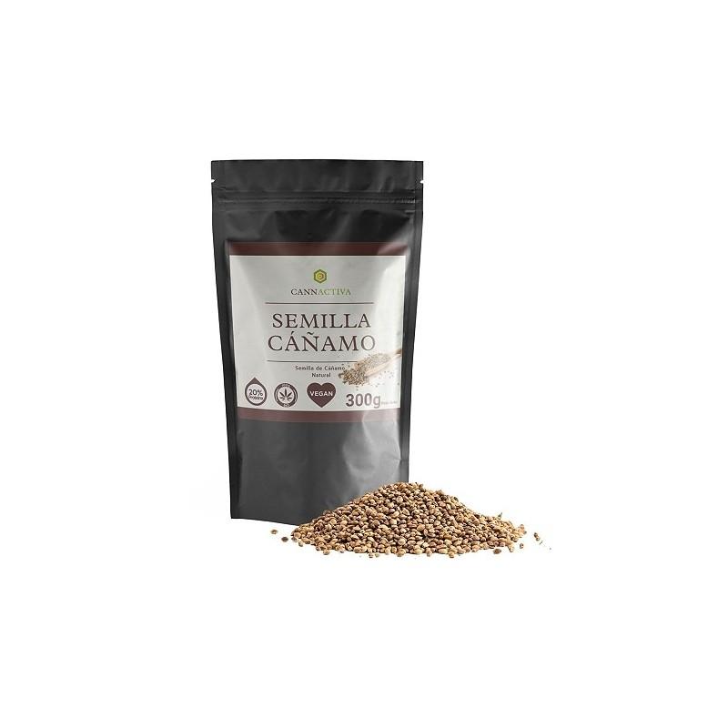 Graines de chanvre 20% de protéine - 300g - Cannactiva