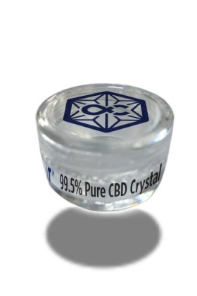 Pure CBD Crystals  - 300mg CBD - Alpha-Cat