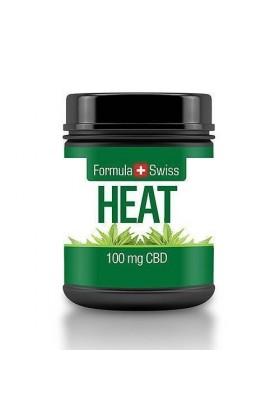 Crème thermique de massage au CBD 100 mg 30 ml - Formula Swiss