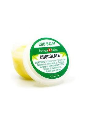 Baume CBD hyradatant anti-âge au chocolat - 30 ml - Formula Swiss