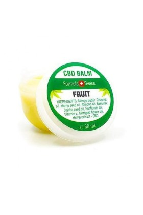 Baume CBD FRUIT Hydratant mangue- 30 ml - Formula Swiss