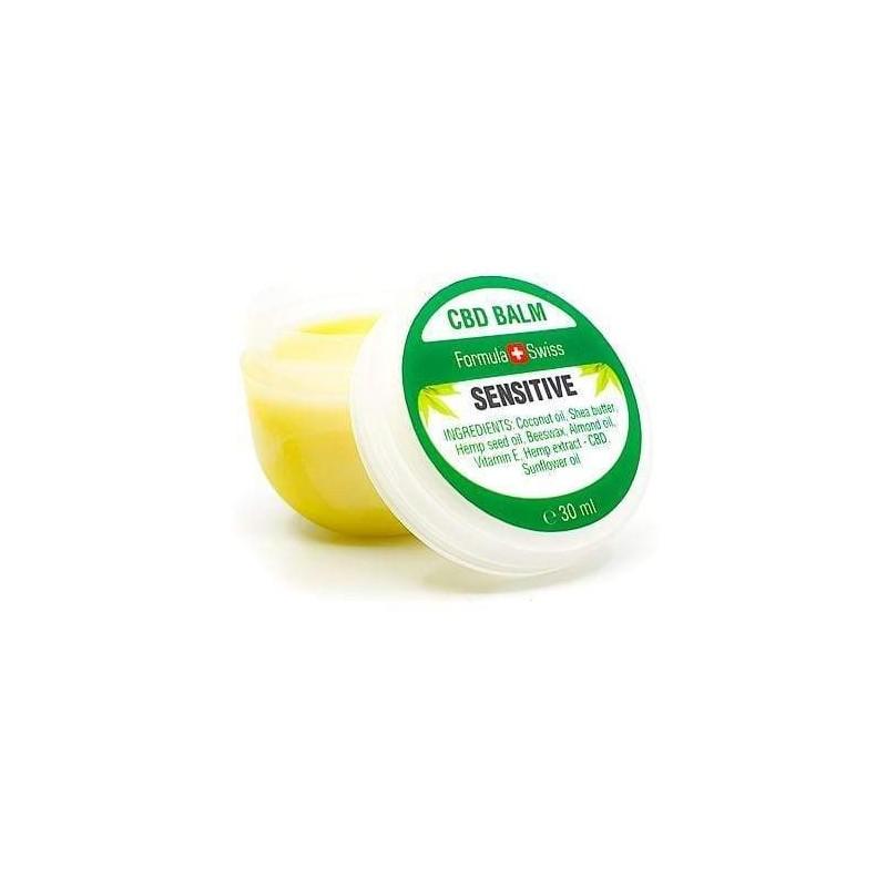Baume CBD SENSITIVE Apaisant sans parfum - 30 ml - Formula Swiss