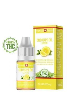 e-liquid CBD de 3% à vapoter goût citron - Formula Swiss