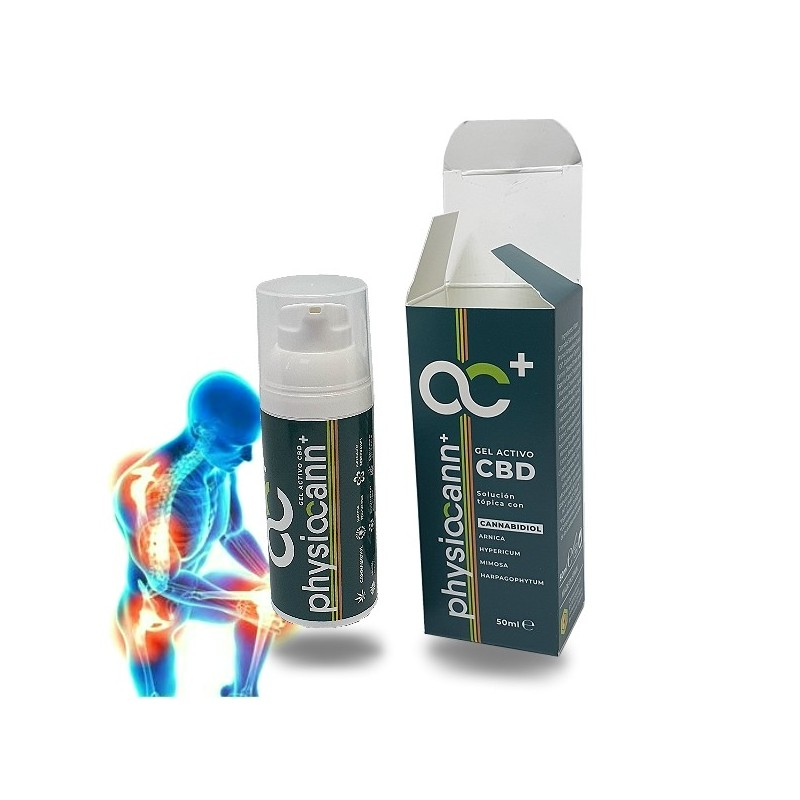 Physiocann PLUS CBD Active Gel - Articulations et muscles - 50ml - Cannactiva