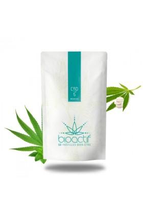 Pastilles menthe 5% CBD - 50 - BioActif