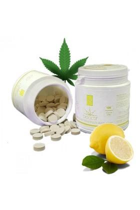Pastilles Citron et vitamine C 10% CBD - 120 - BioActif