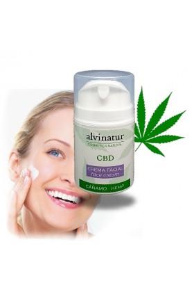 Crème visage Anti-Âge CBD - Alvinatur