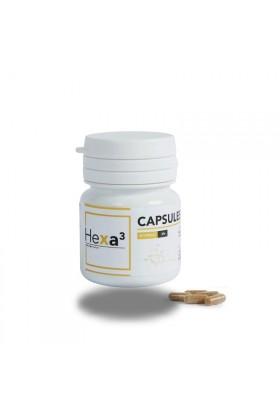 CBD 2% - 20 capsules 10mg  - thé vert - cannabidiol - Hexa3 - Hexacube