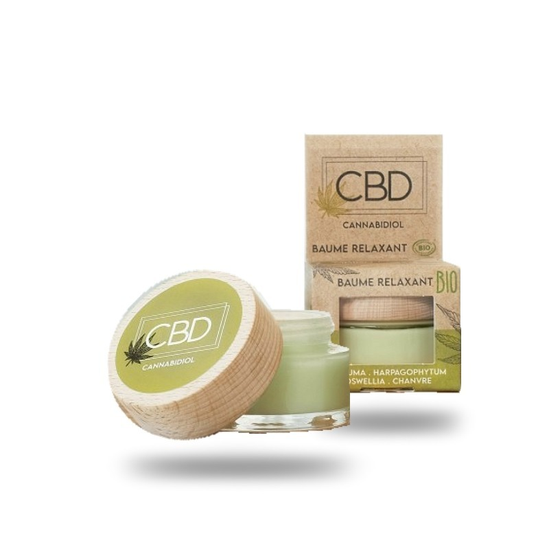 Baume CBD relaxant 30ml Cannabidiol Abiocom