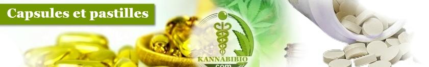 capsules et pastilles CBD